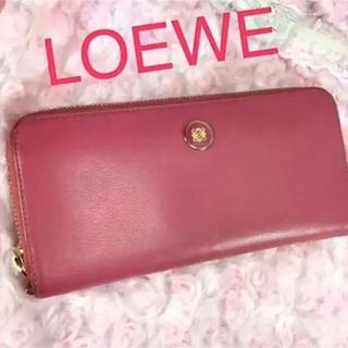 ロエベ(LOEWE)のロエベ   LOEWE  ラウンドファスナー  長財布(財布)