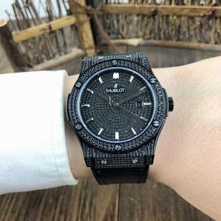 HUBLOT - ウブロ 腕時計 ブラック メンズ 44mm