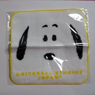 ユニバーサルスタジオジャパン(USJ)のUSJスヌーピー ハンドタオル(ハンカチ)