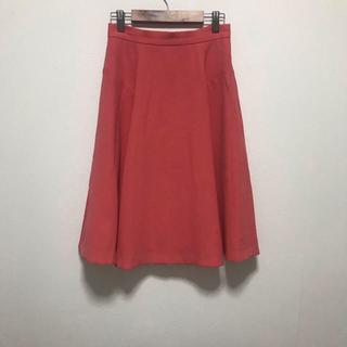 ストラ(Stola.)の綺麗色・フレアスカート(ひざ丈スカート)