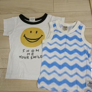エフオーキッズ(F.O.KIDS)のF.O.KIDS 半袖Tシャツ&タンクトップセット(Tシャツ)