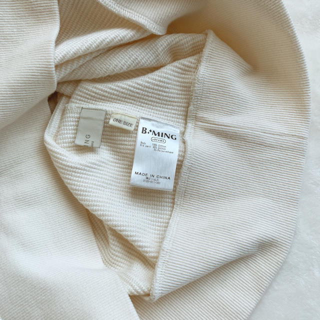 BEAMS(ビームス)のB:MING by BEAMS / 畦 サーマルトップス 19AW レディースのトップス(カットソー(長袖/七分))の商品写真