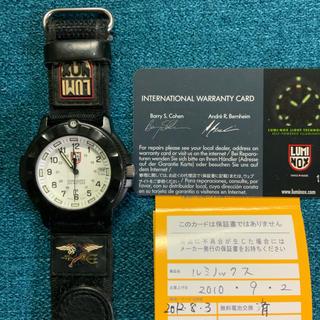 ルミノックス(Luminox)のluminox 3000/3900 ネイビーシリーズ ルミノックス 白(腕時計(アナログ))