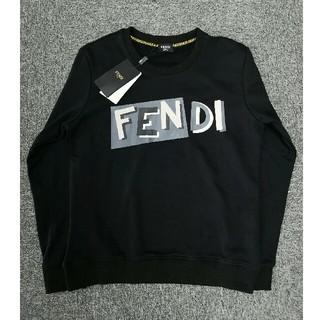 フェンディ(FENDI)のフェンディ スウェット トレーナー ロゴ パーカー (トレーナー/スウェット)