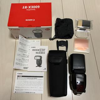 キヤノン(Canon)のCANON 600EX-RT(ストロボ/照明)