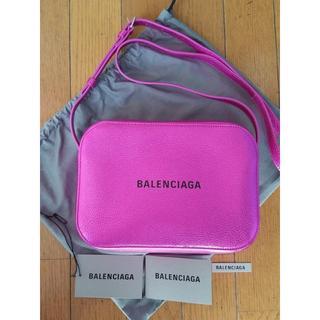 Balenciaga - BALENCIAGA バレンシアガ エブリデイ メタリック カメラ バッグ S