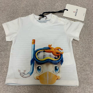 MONCLER - MOCLER モンクレール Tシャツ ベビー タグ付き