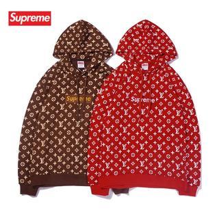 シュプリーム(Supreme)のSupremeシュプリーム パーカー 長袖 2枚9000円送料込み(パーカー)