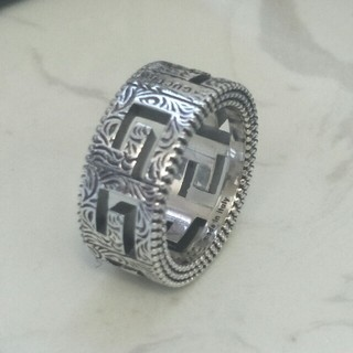 Gucci - お勧めGucci グッチ リング 指輪 S925 メンズ