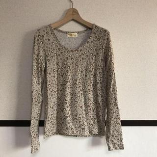ダブルクローゼット(w closet)のレオパード柄 ロンT(Tシャツ(長袖/七分))