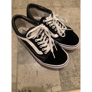 VANS - VANS OLD SKOOL PLAT BLACK 24cm
