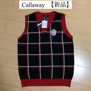 キャロウェイゴルフ(Callaway Golf)の新品 Callaway キャロウェイ ゴルフ メンズ ニット ベスト セーター(ウエア)