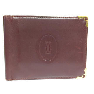 カルティエ(Cartier)のCartier 財布 (マネークリップ)(折り財布)