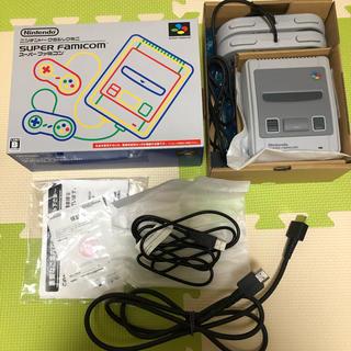 任天堂 - 【美品】Nintendo 本体 ニンテンドークラシックミニ スーパーファミコン