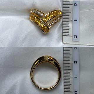 ポーラ(POLA)のPOLA k18  サファイア ダイヤモンド リング(リング(指輪))