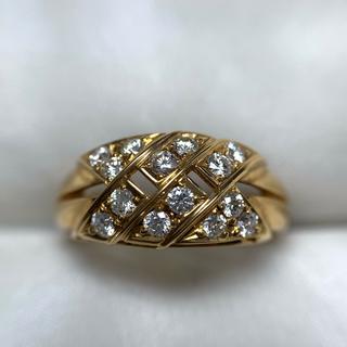 ポーラ(POLA)のPOLA k18  ダイヤモンド リング(リング(指輪))
