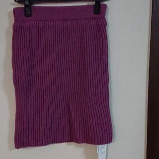 MIIA - MIIAニットスカート