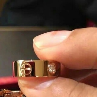 カルティエ(Cartier)の素敵❤️Cartierカルティエ リング 指輪 レディース 7号 ピンクゴールド(リング(指輪))