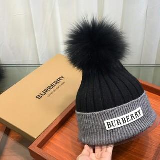 BURBERRY - Burberryバーバリー ニット帽 ビーニー 男女通用 カワイイ
