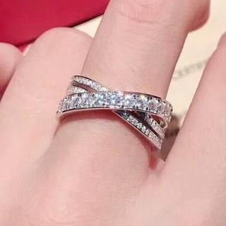 カルティエ(Cartier)の人気品Cartierカルティエ リング 指輪 レディース(リング(指輪))