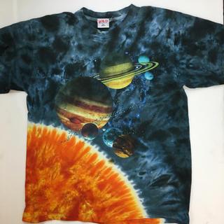 90's WILD タイダイ tシャツ  アメリカ製 ビックサイズ サイズXL(Tシャツ/カットソー(半袖/袖なし))