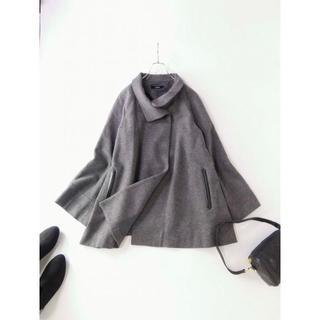 ミッシェルクラン(MICHEL KLEIN)の美品 ミッシェルクラン姉妹 ESPIE ボリュームネックコート 40(その他)