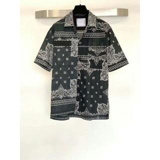 sacai - sacai asymmetry bandana 19ss shirt