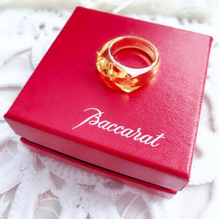 Baccarat - バカラ リング Baccarat  指輪 トパーズ
