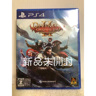 PlayStation4 - 【新品未開封】ディヴィニティ:オリジナル・シン2