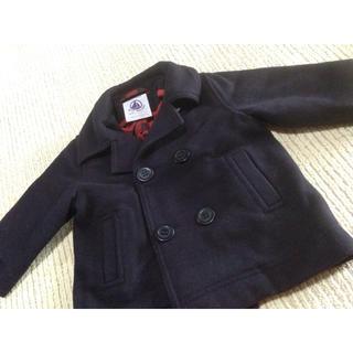 プチバトー(PETIT BATEAU)のプチバトー Pコート ジャケット 12ヶ月用(ジャケット/コート)