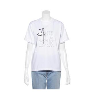 Mila Owen - ミラオーウェン 今期完売 美品 刺繍ロゴTシャツ