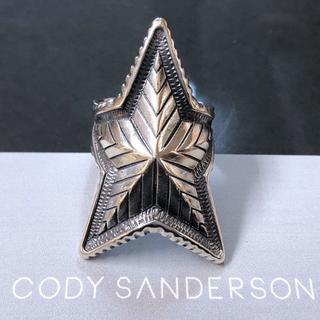☆コディサンダーソン Cody Sanderson デップ スター リング☆(リング(指輪))