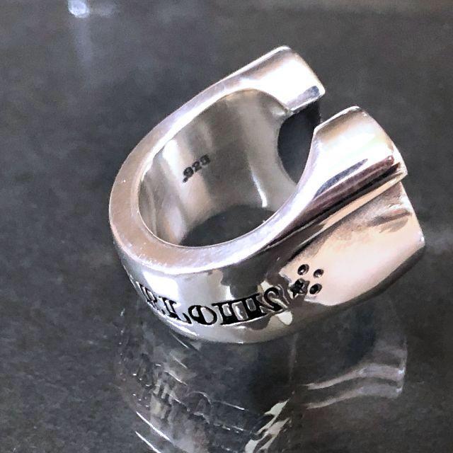 TENDERLOIN(テンダーロイン)の限界値!テンダーロイン TENDERLOIN ホースシューリング メンズのアクセサリー(リング(指輪))の商品写真