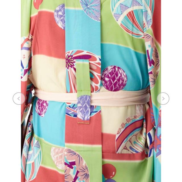 ふりふ(フリフ)のふりふ 振袖用長襦袢 まりぼんぼん 未使用 レディースの水着/浴衣(振袖)の商品写真
