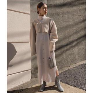 Ameri VINTAGE - AMERI LAYERED KNIT DRESS