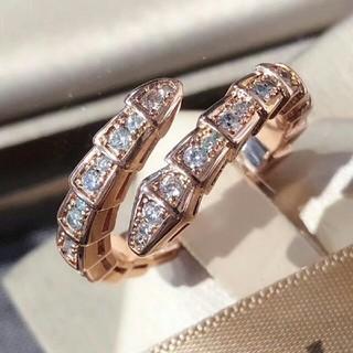 ♥素敵 ブルガリ リング(指輪) Au750 ピンクゴールド♥ (リング(指輪))