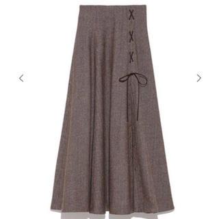 snidel - snidel ブラウンスカート