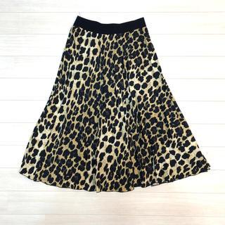 ZARA - ザラ レオパードスカート