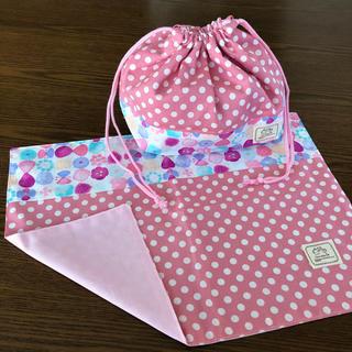 ピンク*お弁当袋 ランチョンマット