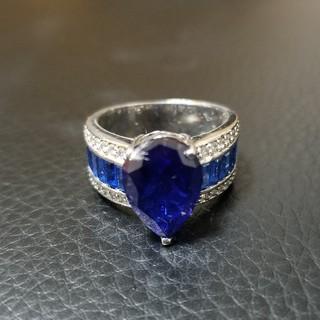 オマケ付!シルバー925 ブルーリング(リング(指輪))