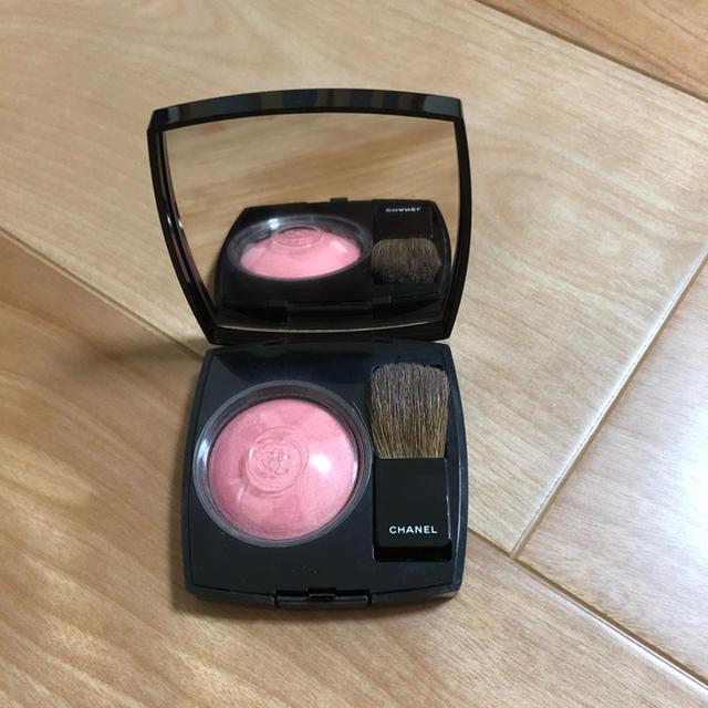 CHANEL(シャネル)のシャネル ジュコントゥラスト72ローズイニシアル コスメ/美容のベースメイク/化粧品(チーク)の商品写真