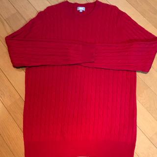 ユニクロ(UNIQLO)のユニクロ UNIQLO 赤セーター(ニット/セーター)