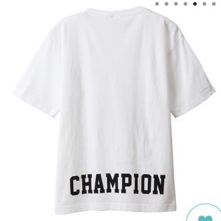 チャンピオン(Champion)の(新品)チャンピオン Tシャツ 直販店限定(Tシャツ(半袖/袖なし))