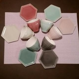 アフタヌーンティー(AfternoonTea)のアフタヌーンティー湯呑み&お菓子プレート(食器)