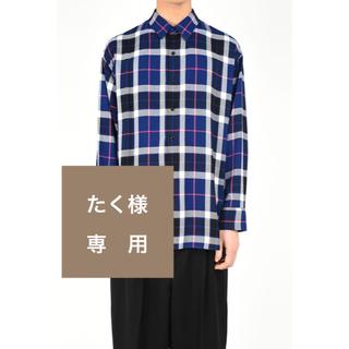 ラッドミュージシャン(LAD MUSICIAN)の【たく様専用】19SS BIG SHIRT 新品未使用(Tシャツ/カットソー(七分/長袖))