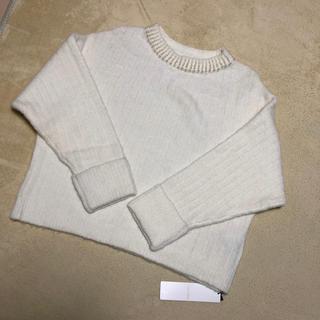 ココディール(COCO DEAL)のホワイト ニット (ニット/セーター)