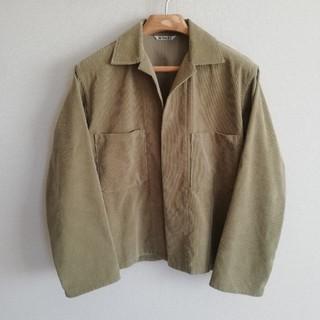 AURALEE 18SS ウォッシュドコーデュロイシャツジャケット  サイズ3