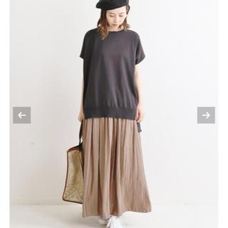 IENA - ヴィンテージ サテンマキシスカート