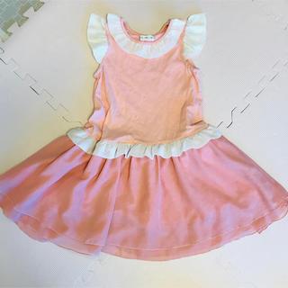 キムラタン - キムラタン リリーアイボリー 120 ワンピース 女の子 ピンク
