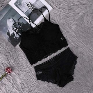 新品✨ショーツ ブラレット セット ブラック 192Bフリーサイズ(ブラ&ショーツセット)